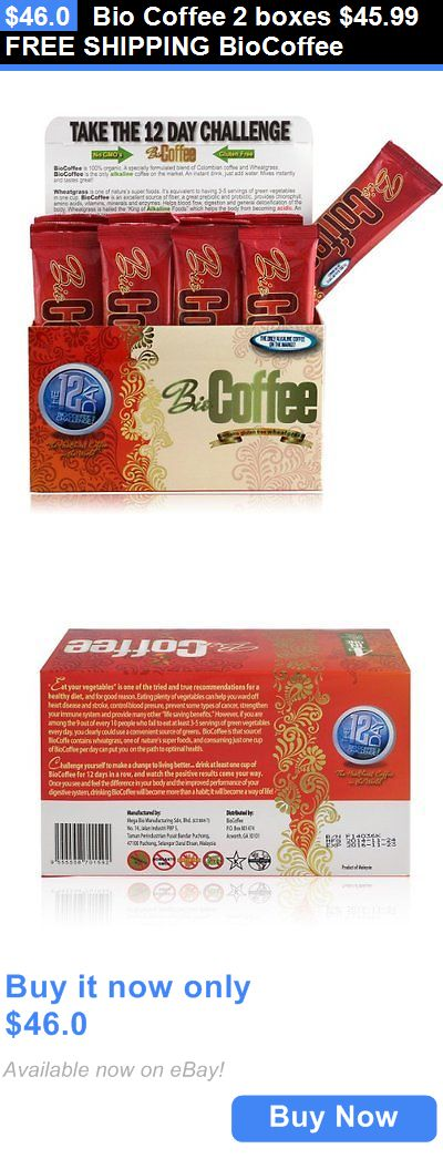 Meal Replacement Drinks: Bio Coffee 2 Boxes $45.99 Free Shipping Biocoffee BUY IT NOW ONLY: $46.0