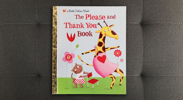 'The Please and Thank You Book' from Little Golden Books is a collection of silly poems -- a fun way to teach kids about kindness and good manners. #WhatWeeRead | Wee Society