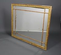 "Lot No 785 A 19th Century rectangular gilt framed mirror 59""h x 47""w, sold £480"