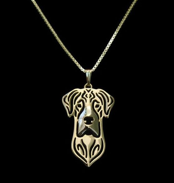 Show your love for your Great Dane with this pendant necklace! Available in gold or silver. Buy this necklace now at this low introductory price!