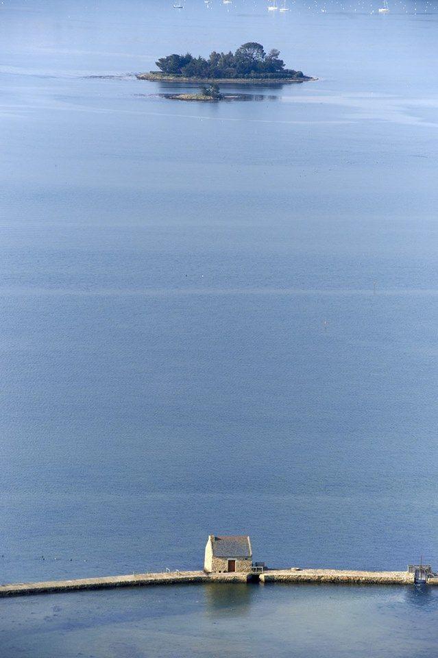 Le moulin à marée de Berno sur l'Ile d'Arz © Yvan Zedda
