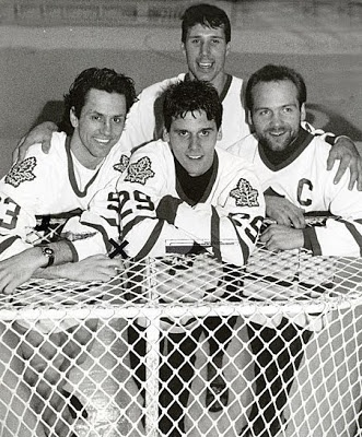 Wendel Clark, Doug Gilmour, Dave Andreychuk, & Felix Potvin.... Classic LEAFS