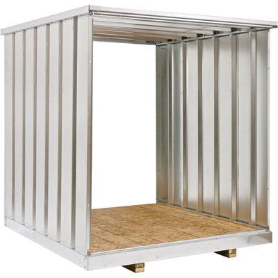 West Galvanized Steel Storage Container Extension Kit — 7Ft., Model# Ex83 NICE OPEN EXTENSION SETS HMMM IDEAS