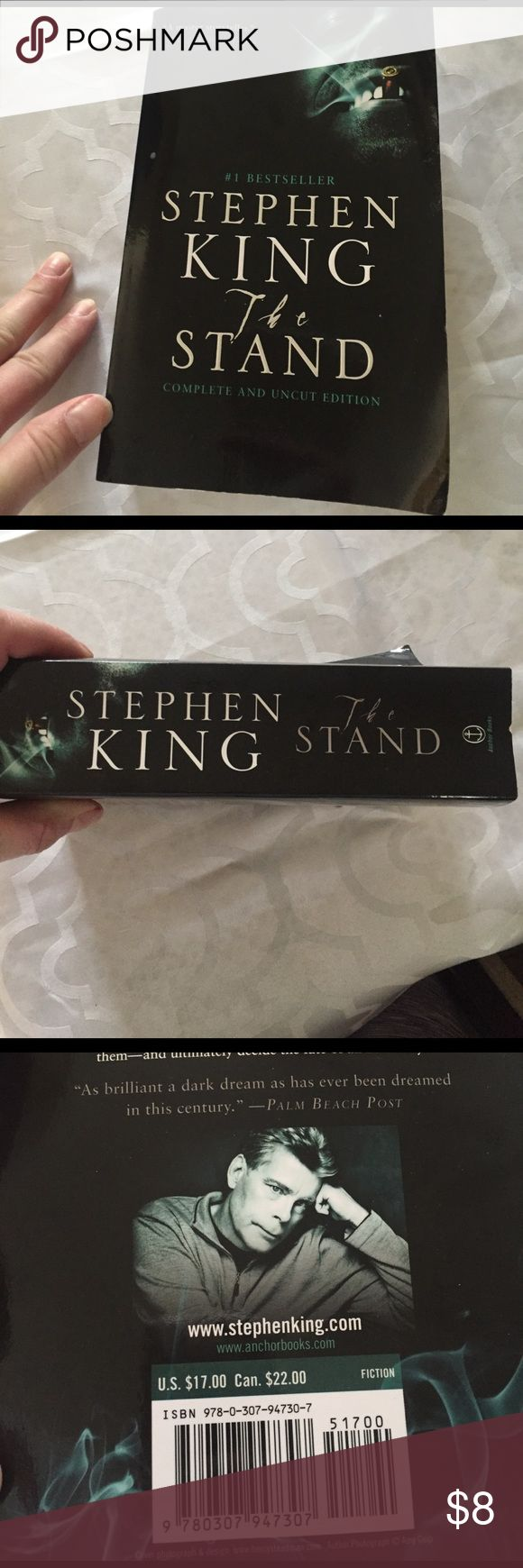 Stephen Kings the stand Brand-new book purchased at Barnes & Noble daughter decided not to read it book Accessories