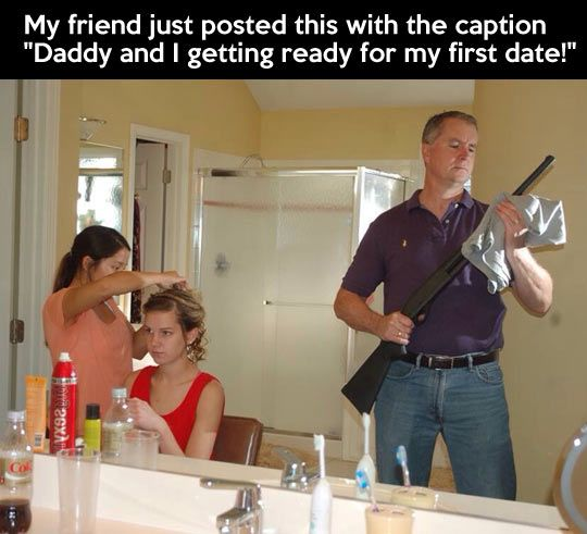 funny-daughter-dad-first-date