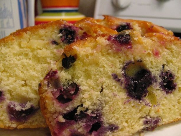 Blueberry & Lemon Tea Cake | Loaf Cakes - Quick Breads | Pinterest