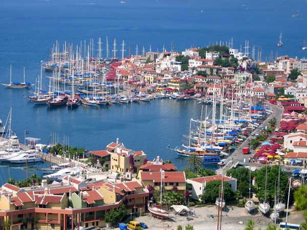 Marmaris, Turkey. Travel Gabble launched its first Podcast! Check it out here http://travelgabble.com/greece-by-sailboat-podcast-with-alessia/