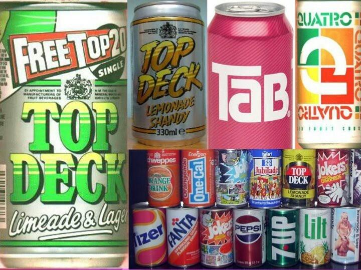 Old school drinks
