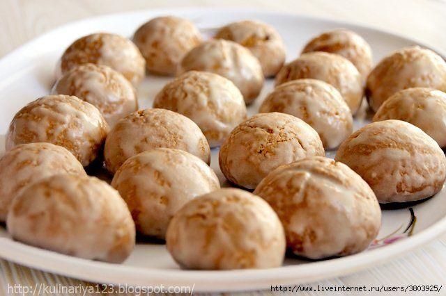 Мини-прянички (на два укуса) на жжёнке - Простые рецепты Овкусе.ру