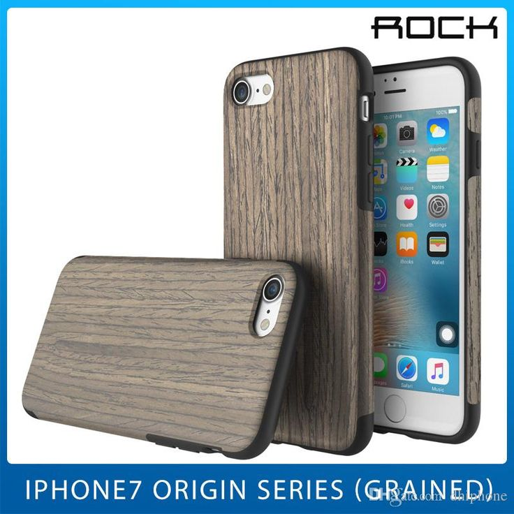 Cell Phone Case Wood Covers For Iphone 7 7plus Pro Shell Origin Series Grain Tpu By Rock Designer Phone Cases Best Phone Cases From Dhiphone, $12.57| Dhgate.Com