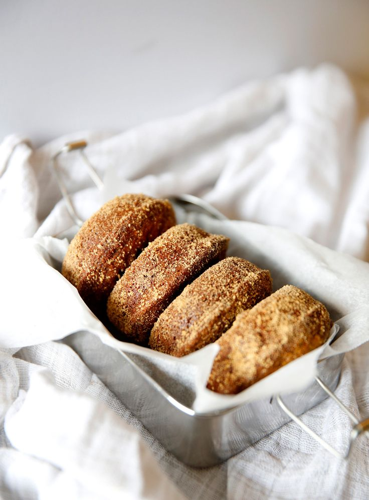 baked cinnamon donuts.