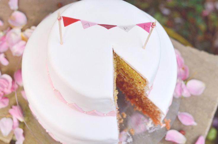 Rezept zweistöckige Torte: ausführliche Anleitung zum Zubereiten einer zweistöckigen Torte mit Farbverlauf des Teiges. Ganz einfach und unkompliziert.