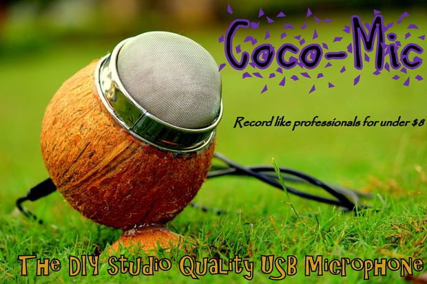 Picture of Coco-Mic --- The DIY Studio Quailty USB Mic (MEMS technology)
