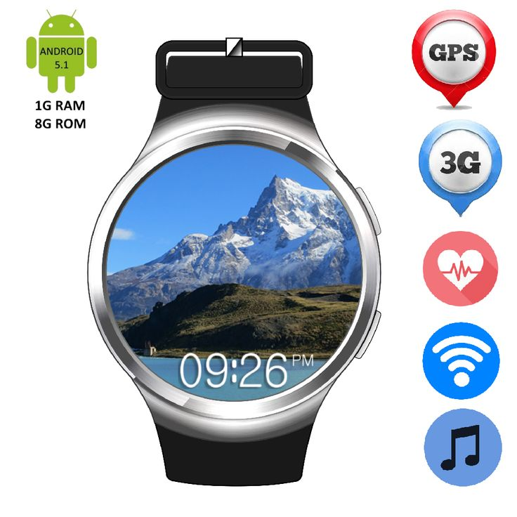 Bluetooth Smart Armbanduhr ZW24 Android 5.1 Hören Rate Monitor 2G/3G SIM Karte GPS Wifi Smartwatch Pedometer MP3 MP4 Sport uhr //Price: $US $129.36 & FREE Shipping //     #meinesmartuhrende
