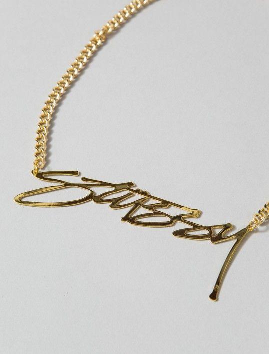 #Stussy killin it as per #goldchain #streetwear