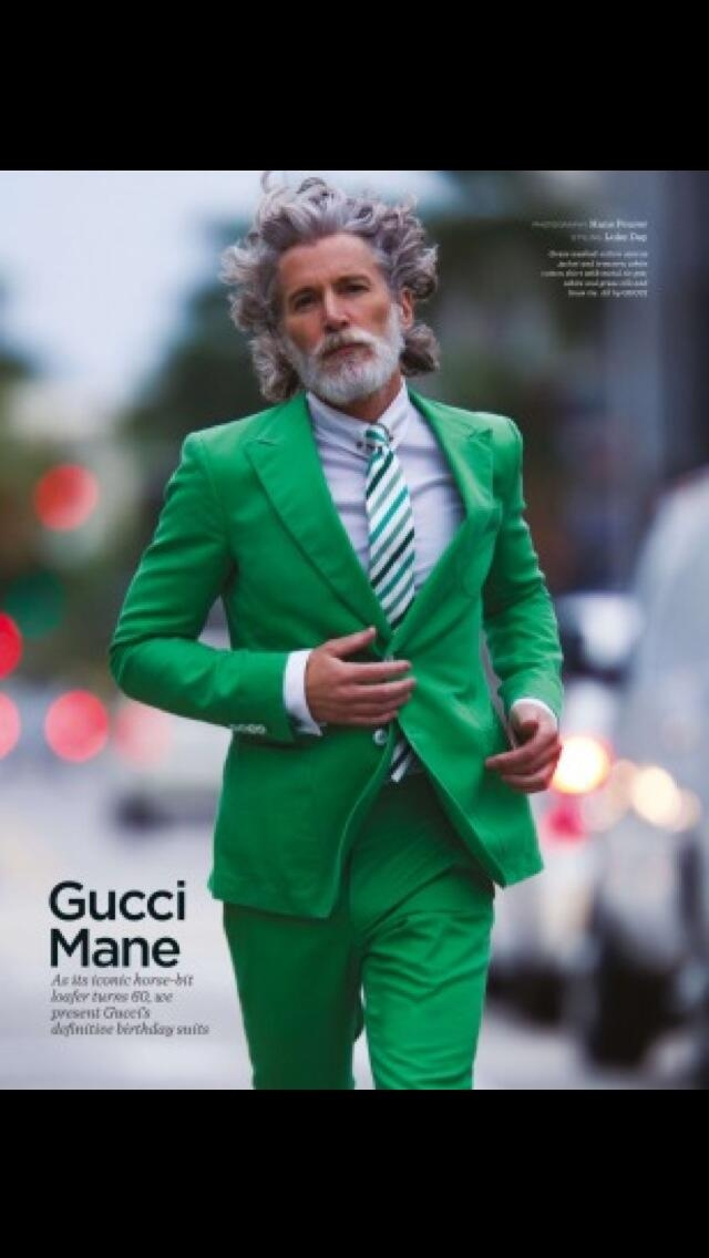 Hans Feurer Photo: Styling by Luke Day. GQ UK ... It's Gucci Mane