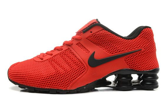 Nike Shox Current Mens Red Shoes