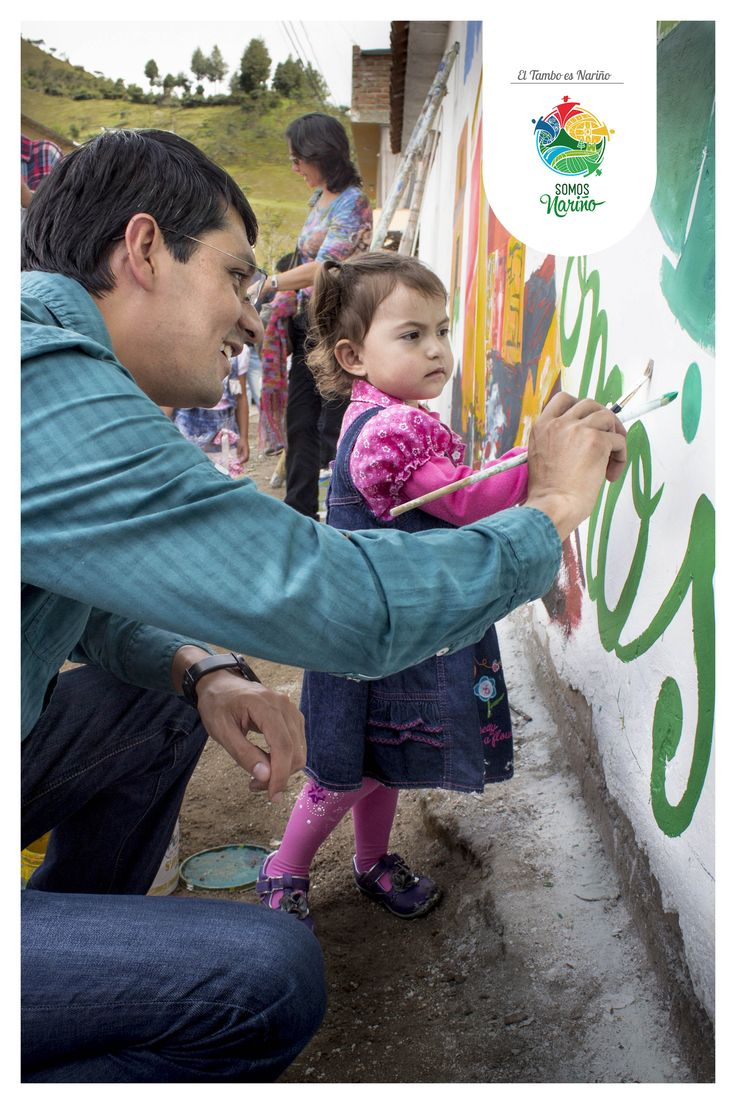 Pintando Nariño en El Tambo con Camilo Romero