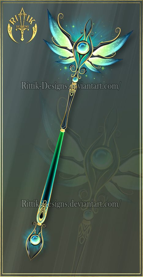 Staff of Illusions (OPEN) Auction by Rittik-Designs
