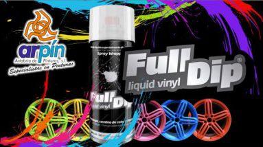 FULL DIP - Spray Vinilo líquido www.pinturasarpin.com
