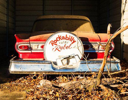 Rockabilly rebel Classic Car
