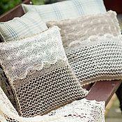 Для дома и интерьера ручной работы. Ярмарка Мастеров - ручная работа декоративные подушки EDEN. Handmade.