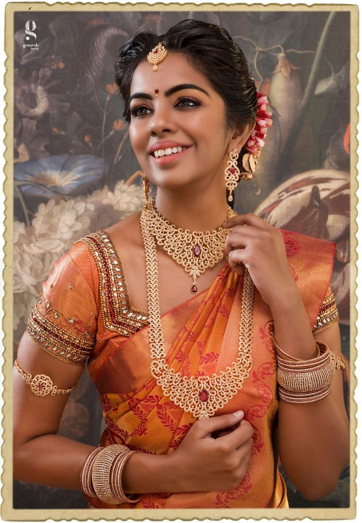 The traditional Bride! Any South Indian bride would love this look! www.shopzters.com