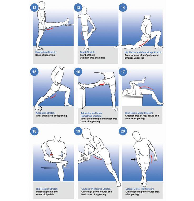 Stretching Basics for Runners - Coach Brigitte