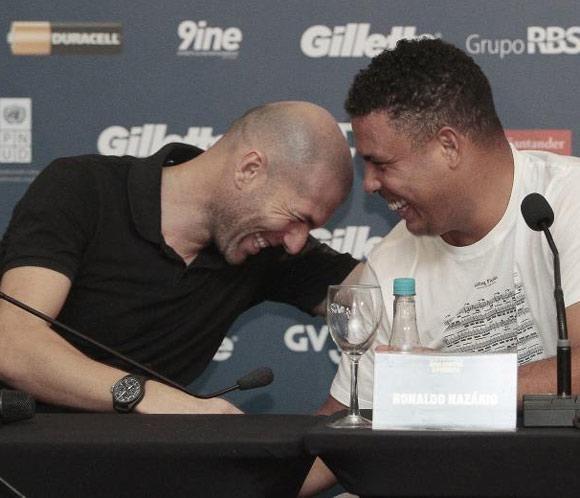 Ronaldo y Zidane jugarán en favor de la reconstrucción de Filipinas