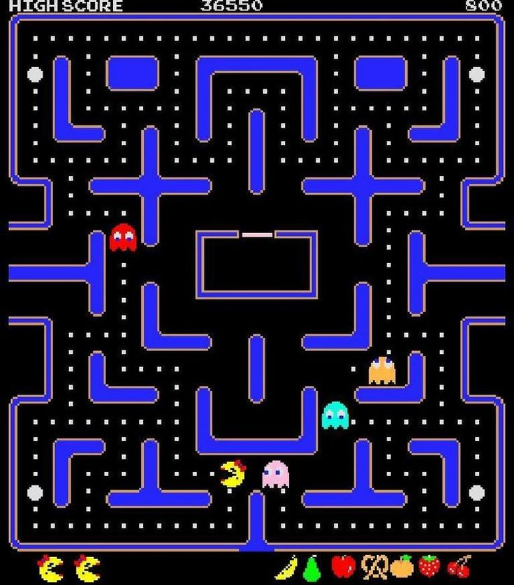 16-ms-pac-man #retro games