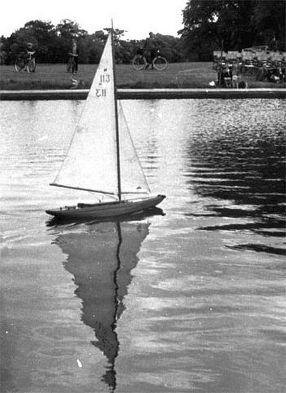 1950s East Park Hull England  model yacht pond | by oldsailro