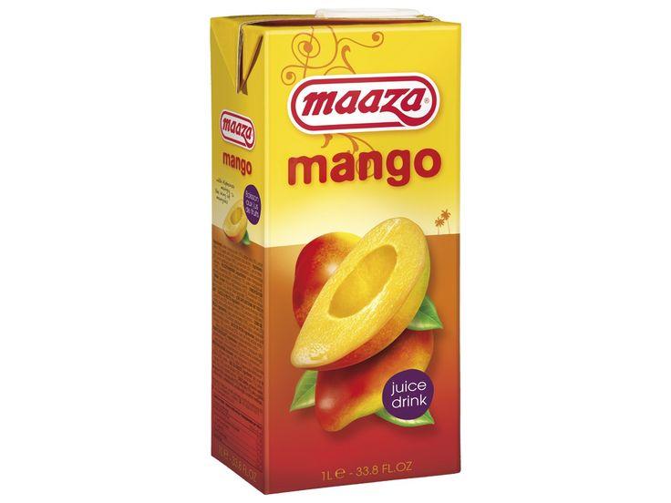 #Mangosap #Maaza is het Indiase woord voor genieten en zo kan de drinkbeleving van deze drank ook het beste omschreven worden. Dit sap bevat geen kunstmatige toevoegingen en is gemaakt van natuurlijk vruchtenmoes.  #AsianFoodLovers