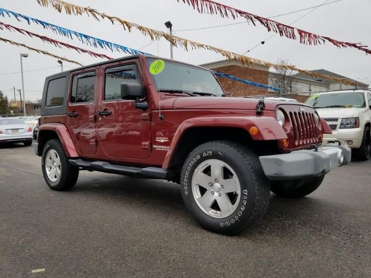 2009 Jeep Wrangler Unlimited Sahara 4WD in 2020 2009