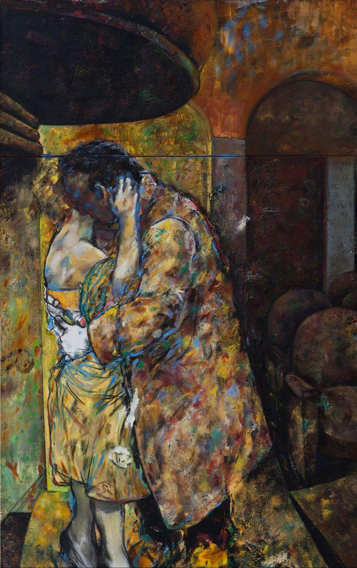 Lovers in a Cinema, Deborah Bell, 1985