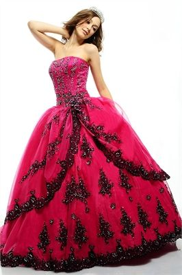 i wanna be back in high school and this be my prom dress! love love love!