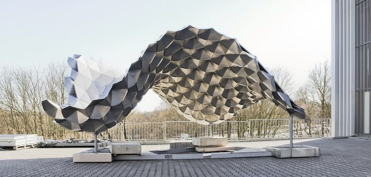 Folding Structures Made From Thin Sheet Metal - RWTH AACHEN UNIVERSITY Chair of Structures and Structural Design - English