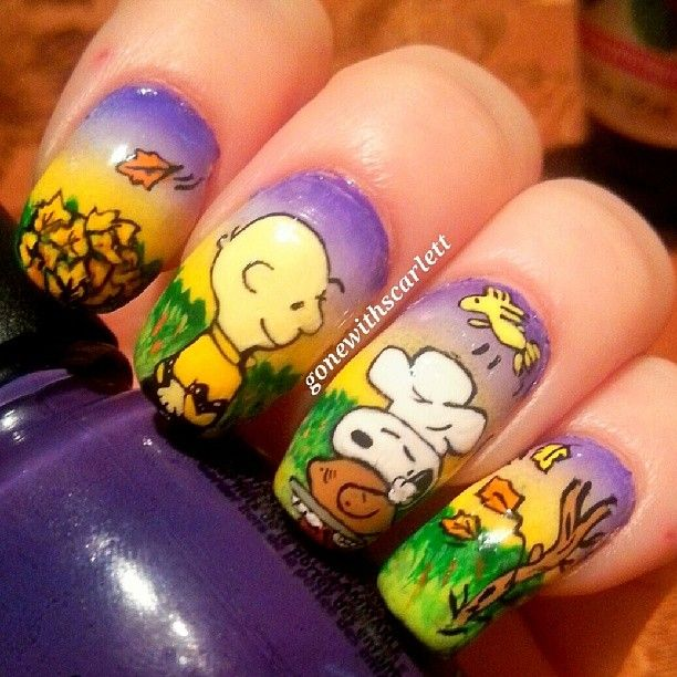 Thanksgiving by gonewithscarlett nail nails nailart nails thanksgiving by gonewithscarlett nail nails nailart nails pinterest nail nail thanksgiving and thanksgiving nails solutioingenieria Image collections