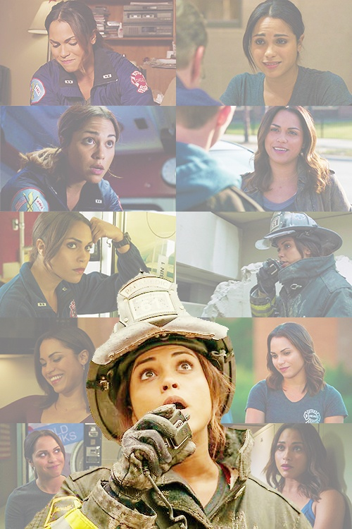 chicago fire ♥ Love her! She is the best paramedic ever! Really rooting for her to be a firefighter :)