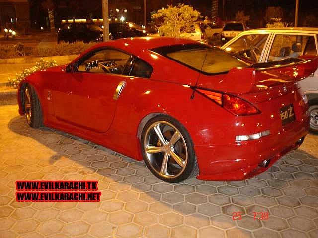 Hot Cars in Pakistan, Nissan 350Z in karachi I really like