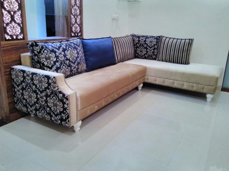 Modern lounger sofa in vintage style. Design and  manufacturer  by MY HOME DECOR nagpur (india).