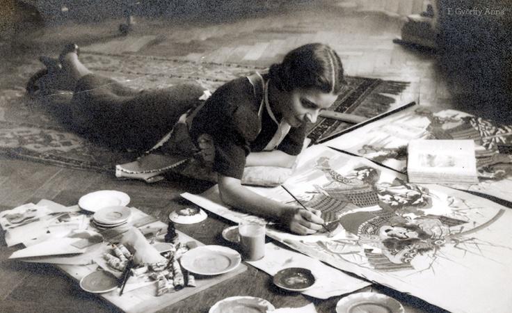 Anna F. Györffy (Hungarian illustrator) © 1932