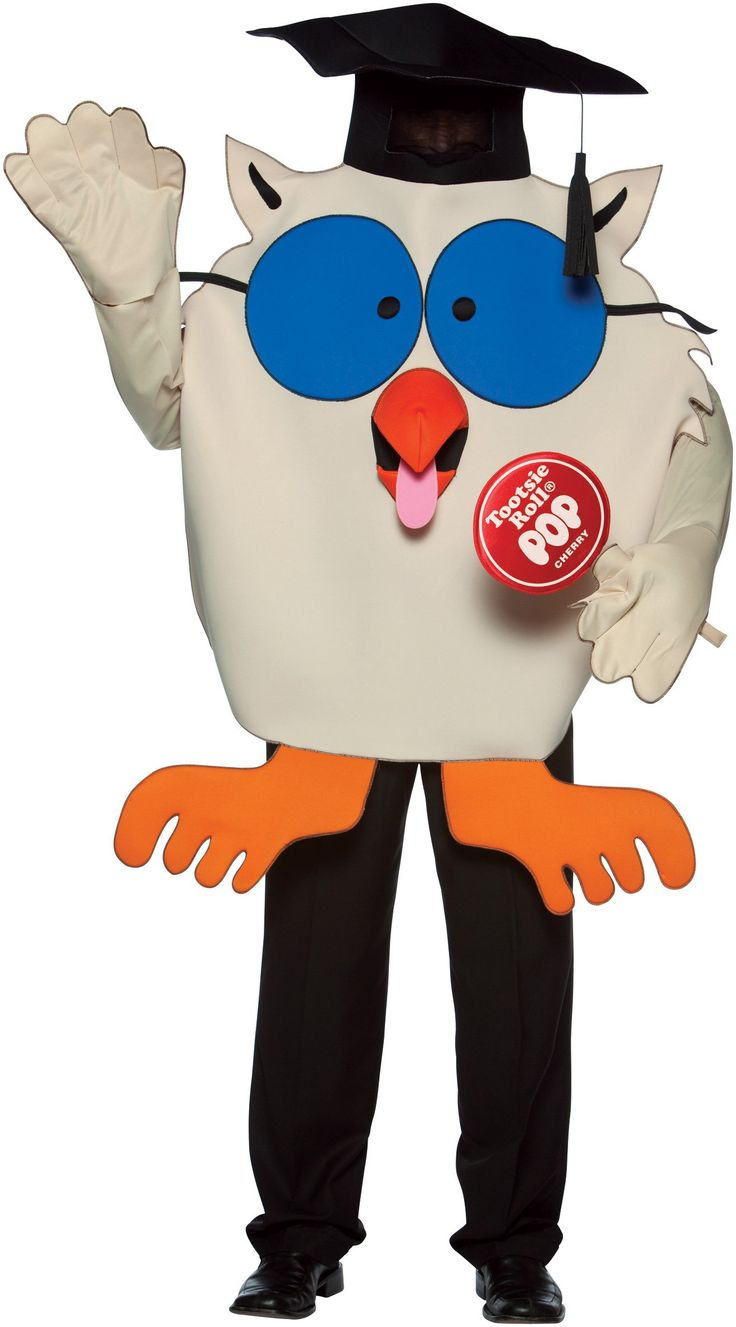 Tootsie Roll Mr. Owl Adult Costume from BuyCostumes.com