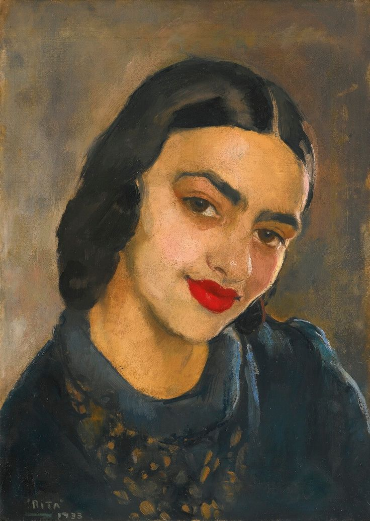 Amrita Sher-Gil, an artist at the forefront on modernism in India   We Are Not A Muse