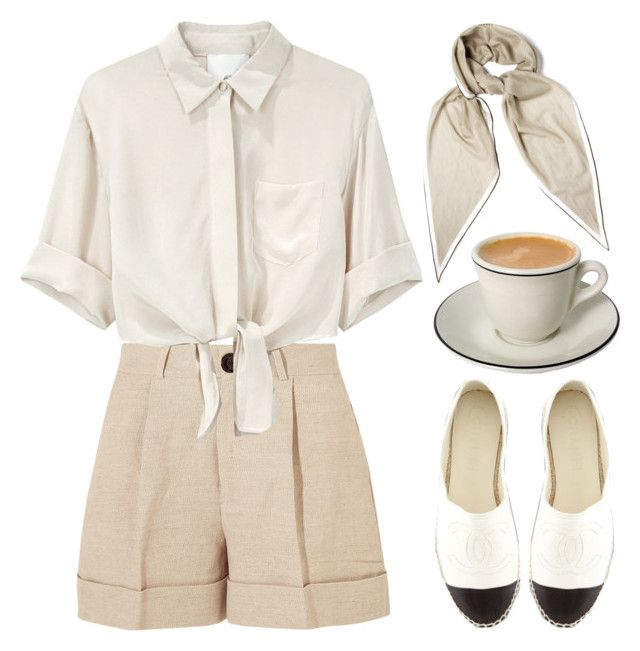"""Untitled #1674"" by susannem ❤ liked on Polyvore featuring Totême, 3.1 Phillip Lim, Hermès and Chanel"