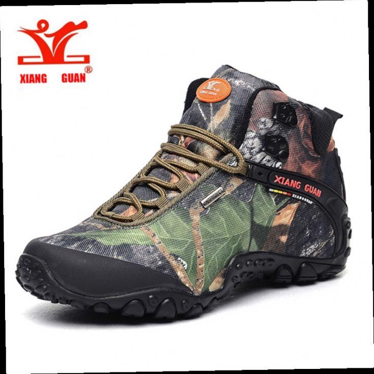 52.43$  Buy here - http://alig9v.worldwells.pw/go.php?t=32722504299 - XIANGGUAN Woman Hiking Shoes  Men shoes sales Athletic Trekking Boots Camo Zapatillas Sports Climbing Shoe Outdoor Walking Boot
