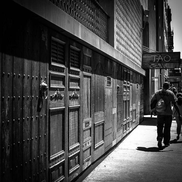 Tao. NYC. LOVE the doors.  Please visit my photos at http://ift.tt/27lzxiZ  #ny #nyc #photooftheday #newyork #newyorkcity#newyork_instagram #pictureoftheday #insta  #nyloveyou #instapic #rob523 #clements #locationscout #locationscouting #production #crew #nyc#manhattan #photo#photography #photooftheday #nikon #nikontop #nikond800#spoilednyc @nikonusa@iloveny@newyorkcom @newyork_instagram @newyork_bigcity @spoiled_nyc #bw #blackandwhite #blackandwhitephotography #architecture #woodwork #500px…