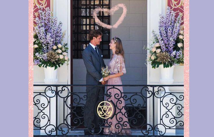 Como salida de un cuento de hadas, Beatrice Borromeo contrajo nupcias con Pierre Casiraghi usando un vestido Valentino en una tarde de verano de la Riviera francesa. Checa los detalles y enamórate.