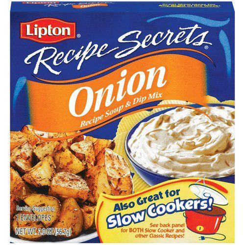 Lipton Onion Soup Recipe Secrets Mix Just $0.69 At Walgreens!