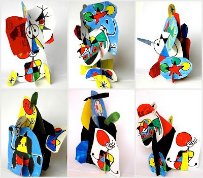 Three dimensional Mirò - Fantastic Idea!