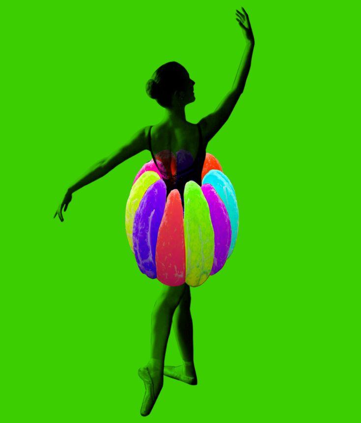 Ballerina artwork by rnt616 #ballerinacollage #collage